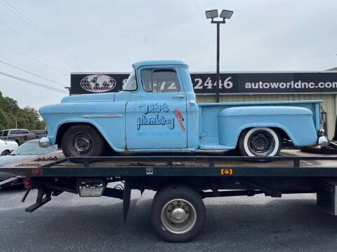 1955 Chevrolet 3100 for sale at AutoWorld of Lenoir in Lenoir NC