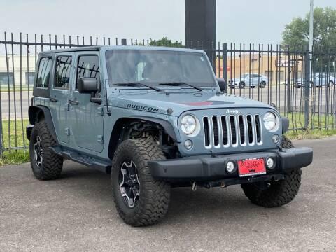2015 Jeep Wrangler Unlimited for sale at Avanesyan Motors in Orem UT