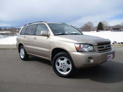 2004 Toyota Highlander for sale at Nations Auto in Lakewood CO