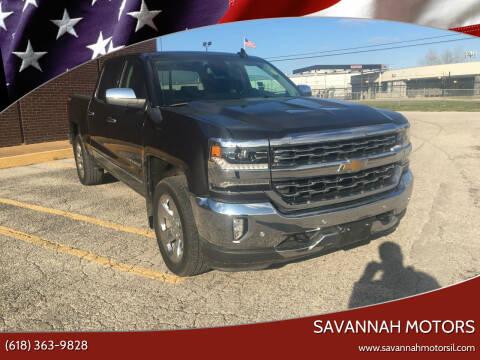 2016 Chevrolet Silverado 1500 for sale at Savannah Motors in Cahokia IL