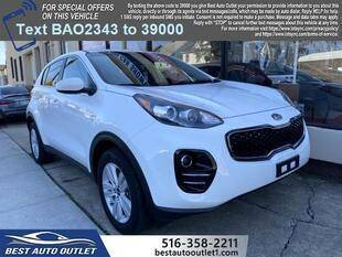 2018 Kia Sportage for sale at Best Auto Outlet in Floral Park NY