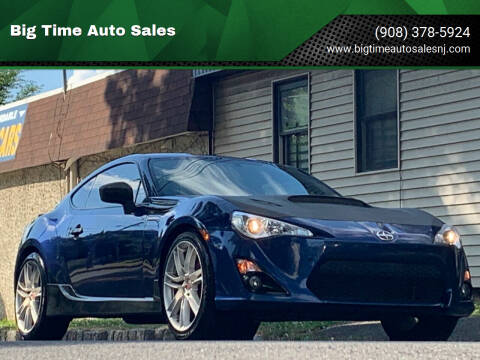 2014 Scion FR-S for sale at Big Time Auto Sales in Vauxhall NJ