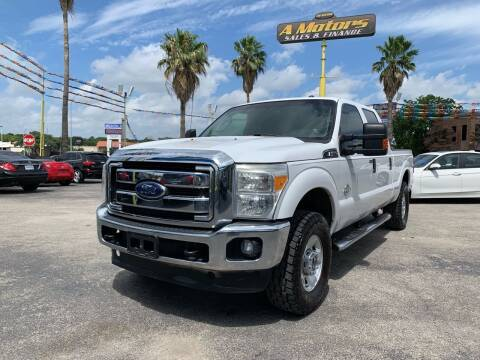 2012 Ford F-250 Super Duty for sale at A MOTORS SALES AND FINANCE in San Antonio TX