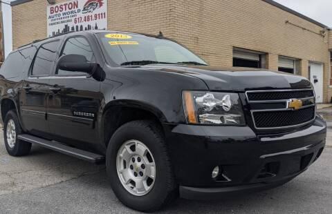 2013 Chevrolet Suburban for sale at Boston Auto World in Quincy MA