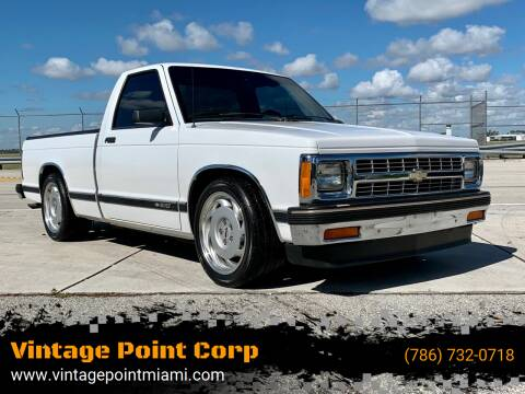 1992 Chevrolet S-10 for sale at Vintage Point Corp in Miami FL