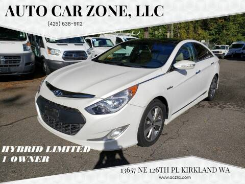 2012 Hyundai Sonata Hybrid for sale at Auto Car Zone, LLC in Kirkland WA