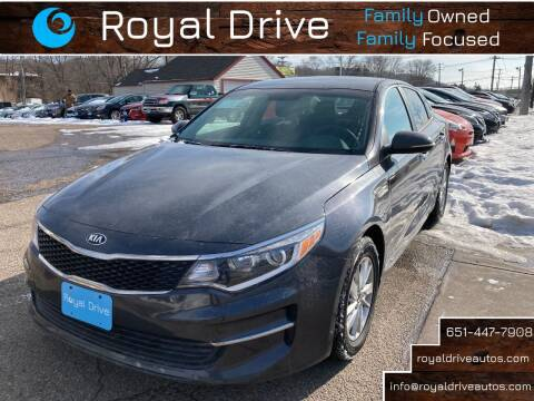 2017 Kia Optima for sale at Royal Drive in Newport MN
