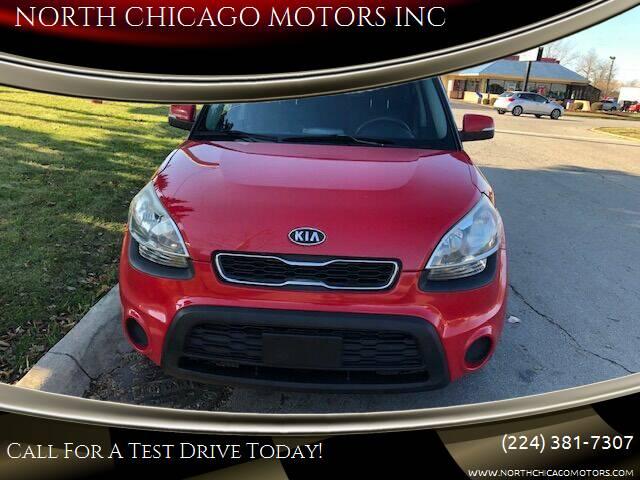 2012 Kia Soul for sale at NORTH CHICAGO MOTORS INC in North Chicago IL