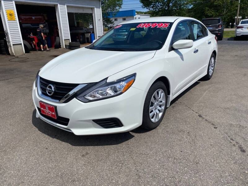 2017 Nissan Altima for sale at AutoMile Motors in Saco ME