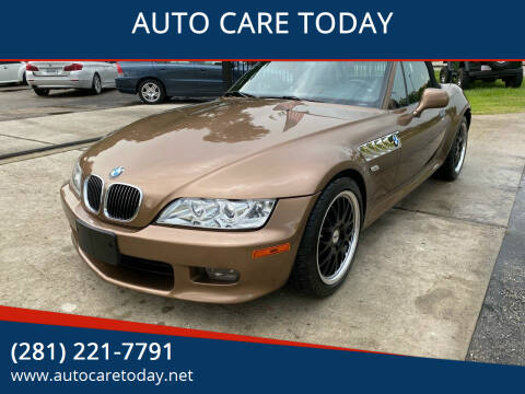 2000 BMW Z3 for sale at AUTO CARE TODAY in Spring TX
