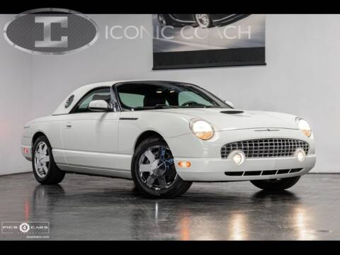 2002 Ford Thunderbird for sale at Iconic Coach in San Diego CA