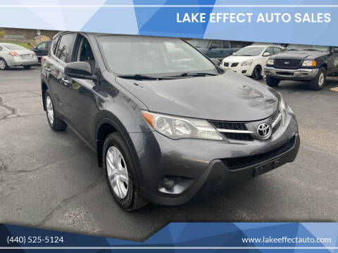 2015 Toyota RAV4 for sale at Lake Effect Auto Sales in Chardon OH