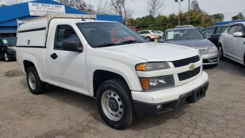 2012 Chevrolet Colorado for sale at Capital Motors in Raleigh NC