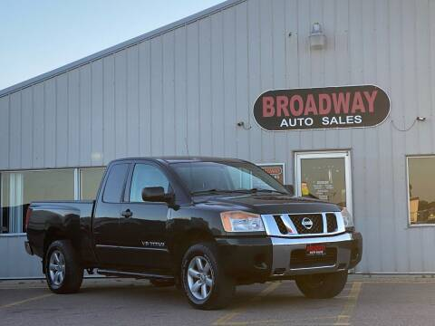 2008 Nissan Titan for sale at Broadway Auto Sales in South Sioux City NE