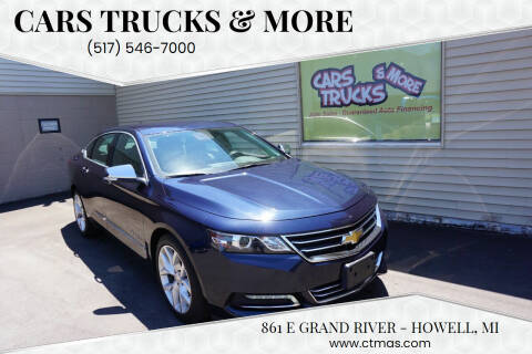 2015 Chevrolet Impala for sale at Cars Trucks & More in Howell MI