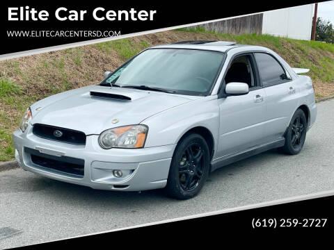 2004 Subaru Impreza for sale at Elite Car Center in Spring Valley CA