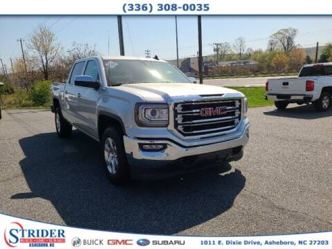2018 GMC Sierra 1500 for sale at STRIDER BUICK GMC SUBARU in Asheboro NC