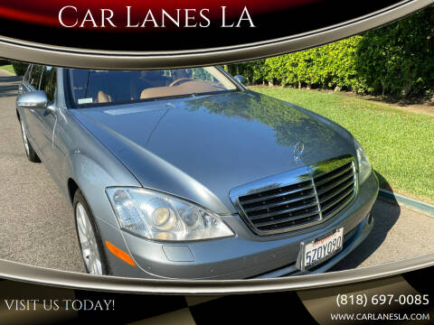 2007 Mercedes-Benz S-Class for sale at Car Lanes LA in Valley Village CA