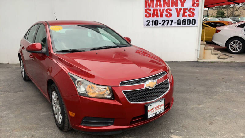 2011 Chevrolet Cruze for sale at Manny G Motors in San Antonio TX