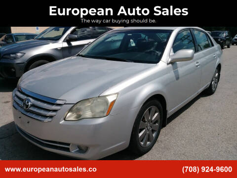 2006 Toyota Avalon for sale at European Auto Sales in Bridgeview IL