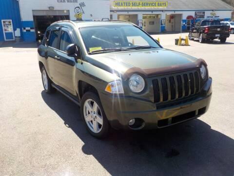 2007 Jeep Compass for sale at RTE 123 Village Auto Sales Inc. in Attleboro MA