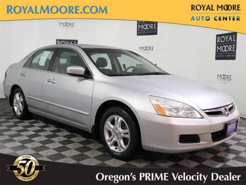 2006 Honda Accord for sale at Royal Moore Custom Finance in Hillsboro OR