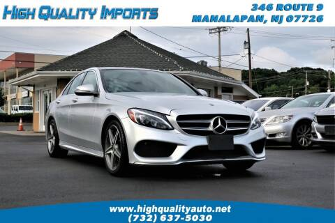 2018 Mercedes-Benz C-Class for sale at High Quality Imports in Manalapan NJ