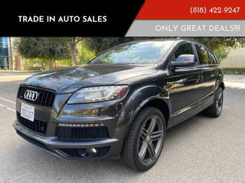 2014 Audi Q7 for sale at Trade In Auto Sales in Van Nuys CA