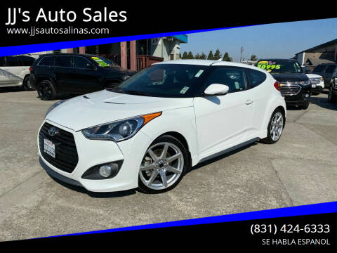 2013 Hyundai Veloster for sale at JJ's Auto Sales in Salinas CA