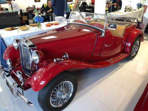 1954 MG TD for sale at Prestigious Euro Cars in Fort Lauderdale FL