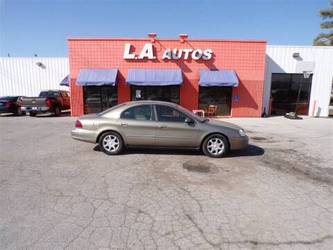 2003 Mercury Sable for sale at L A AUTOS in Omaha NE