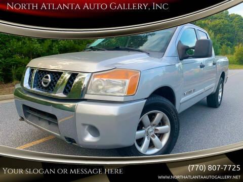 2009 Nissan Titan for sale at North Atlanta Auto Gallery, Inc in Alpharetta GA