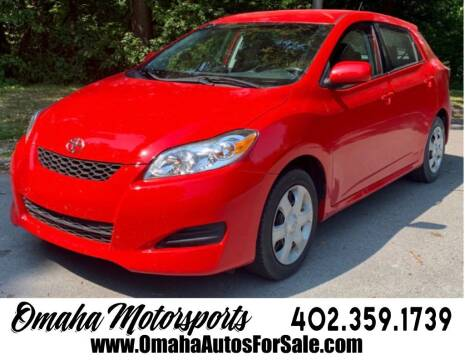2010 Toyota Matrix for sale at Omaha Motorsports in Omaha NE
