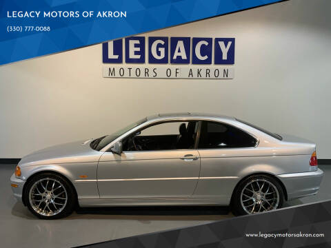 2001 BMW 3 Series for sale at LEGACY MOTORS OF AKRON in Akron OH