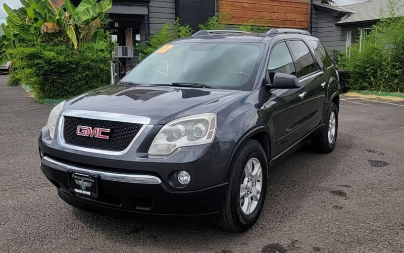 2012 GMC Acadia for sale at Persian Motors in Cornelius OR