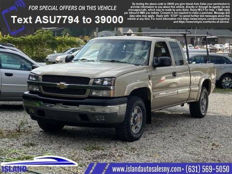 2005 Chevrolet Silverado 1500 for sale at Island Auto Sales in East Patchogue NY