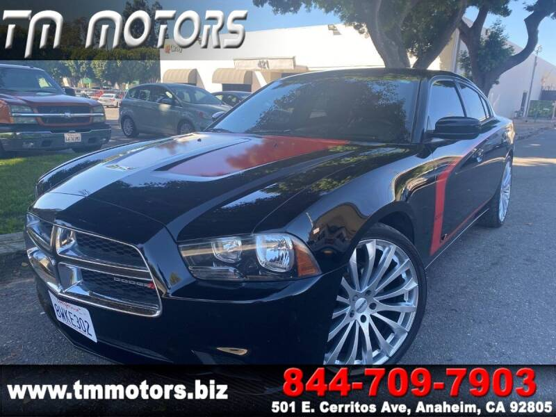 2013 Dodge Charger for sale at TM Motors in Anaheim CA