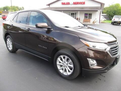 2020 Chevrolet Equinox for sale at Thompson Motors LLC in Attica NY