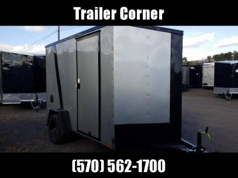 2021 Look Trailers STLC 6X10 EXT HEIGHT - BLACKED