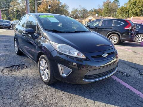 2013 Ford Fiesta for sale at Fast and Friendly Auto Sales LLC in Decatur GA