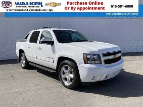 2011 Chevrolet Avalanche for sale at WALKER CHEVROLET in Franklin TN