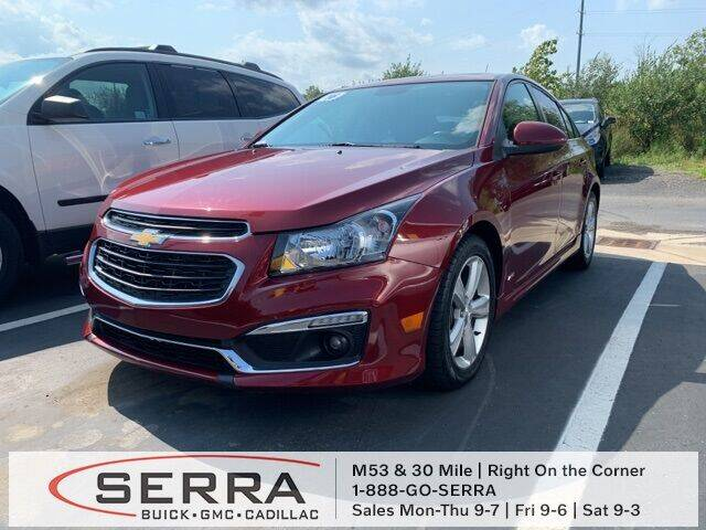 2016 Chevrolet Cruze Limited for sale in Washington, MI
