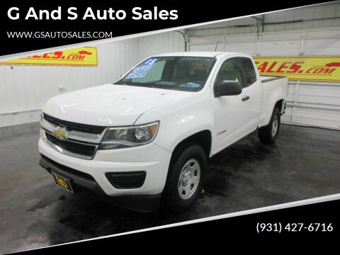 2015 Chevrolet Colorado for sale at G and S Auto Sales in Ardmore TN