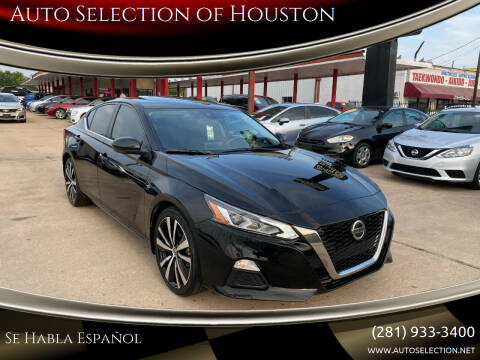 2021 Nissan Altima for sale at Auto Selection of Houston in Houston TX