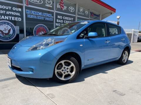 2011 Nissan LEAF for sale at VR Automobiles in National City CA