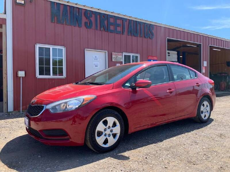 2016 Kia Forte for sale at Main Street Autos Sales and Service LLC in Whitehouse TX