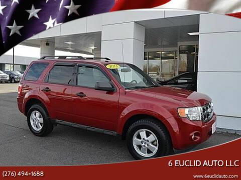 2011 Ford Escape for sale at 6 Euclid Auto LLC in Bristol VA