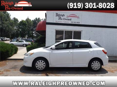 2010 Toyota Matrix for sale at Raleigh Pre-Owned in Raleigh NC