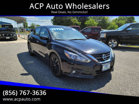 2017 Nissan Altima for sale at ACP Auto Wholesalers in Berlin NJ