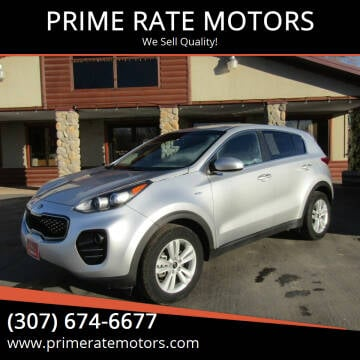 2018 Kia Sportage for sale at PRIME RATE MOTORS in Sheridan WY